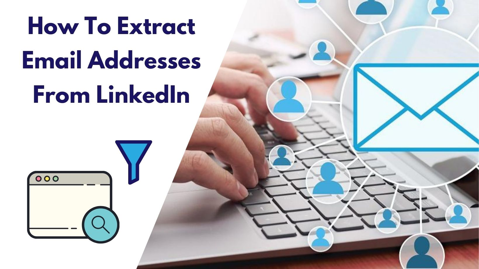 LinkedIn email extraction for free