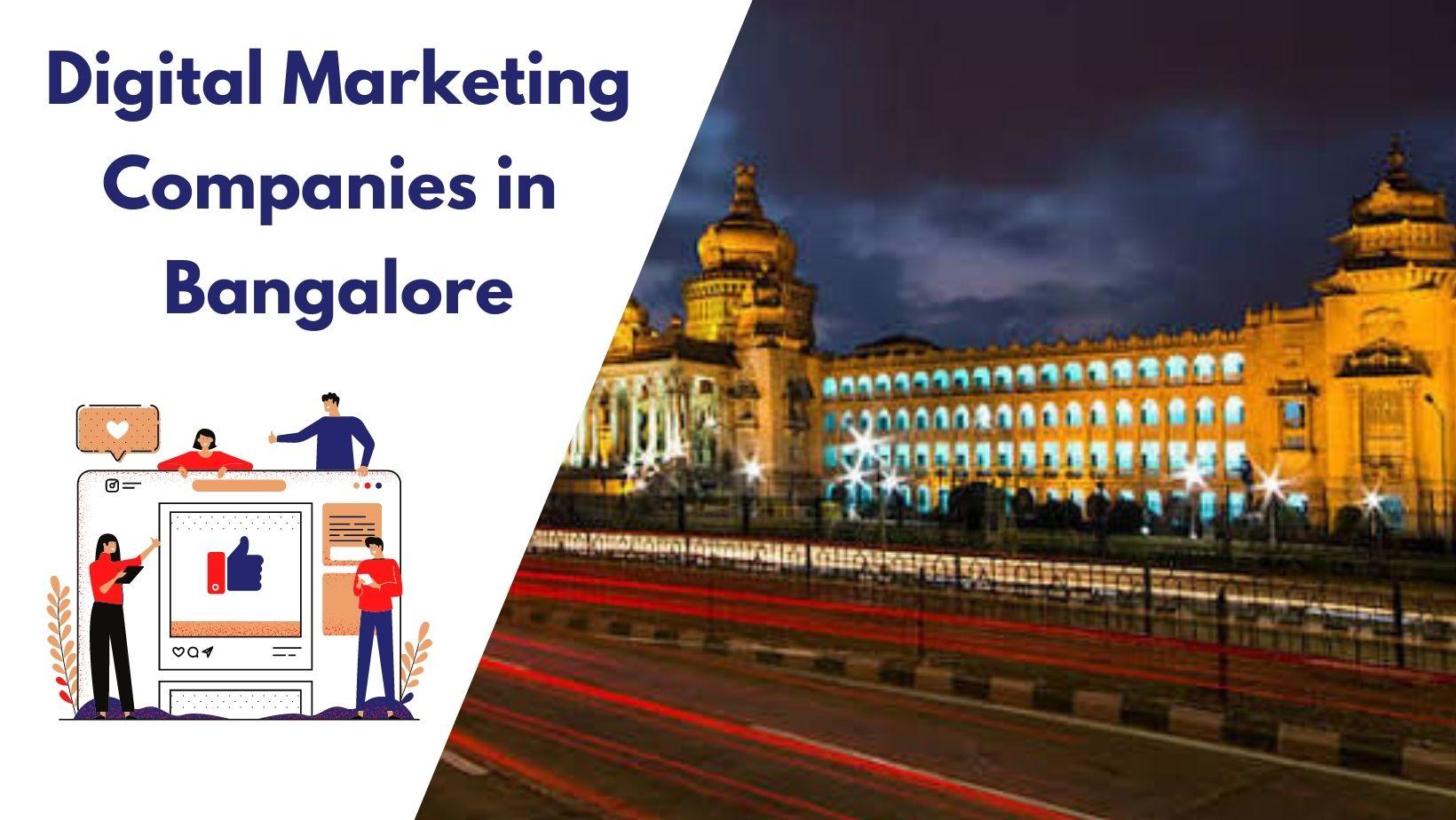 Digital marketing in Bangalore